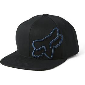 Fox Headers Snapback Hat Men, black/blue